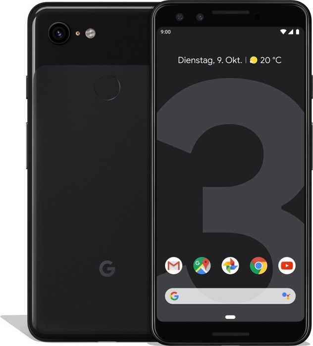 Google Pixel 3 64GB just black