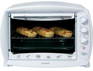 Bomann MBG1248CB mini oven with grill/hot air
