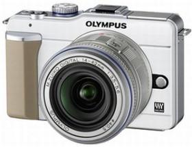 Olympus PEN E-PL1 weiß mit Objektiv M.Zuiko digital ED 14-42mm und M.Zuiko digital ED 40-150mm (N3845592)