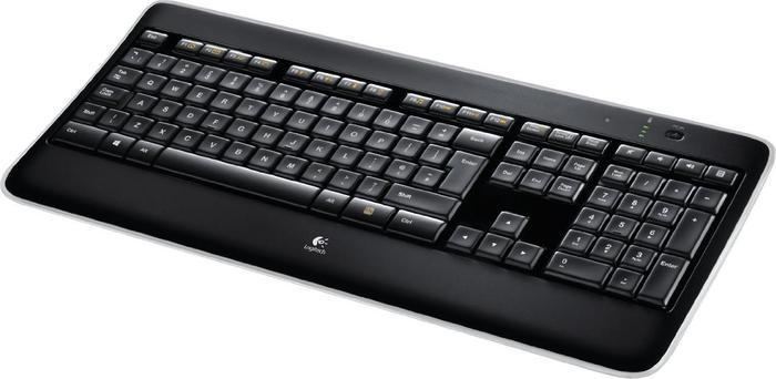 Logitech K800 wireless Illuminated Keyboard, USB, IT (920-002375)