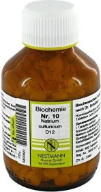 Nestmann Biochemie 10 Natrium sulfuricum D12 Tabletten, 400 Stück