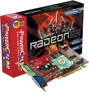 PowerColor Radeon 9600 Pro LE, 128MB DDR, VGA, DVI, TV-out, AGP