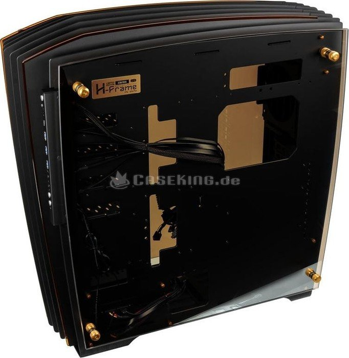 In Win H Frame 2.0 Black/amber, Glass Window, 1065W ATX, E ATX Starting From  £ 1413.09 Uk (2018) | Skinflint Price Comparison UK