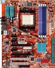 ABIT KN8 SLI, nForce4 SLi (dual PC-3200 DDR)