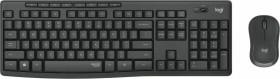 Logitech MK295 Silent Wireless Combo schwarz, USB, DE (920-009794)