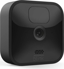 Blink Outdoor Kamera schwarz, 3. Generation/2020, Set inkl. Sync-Modul 2 (53-024848)