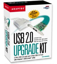 Adaptec AUH-4000BNDL USB 2.0 Upgrade Kit (1935400)