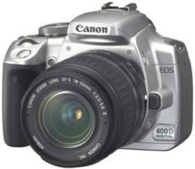 Canon EOS 400D silber mit Objektiv EF-S 18-55mm 3.5-5.6 (1241B016)
