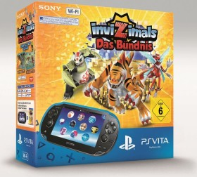 Sony PlayStation Vita Wi-Fi Invizimals Bundle schwarz