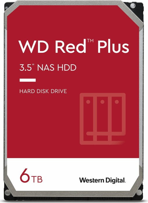 "Western Digital WD Red   6TB, 3.5"", SATA 6Gb/s (WD60EFRX)"