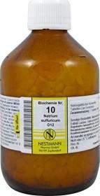 Nestmann Biochemie 10 Natrium sulfuricum D12 Tabletten, 1000 Stück