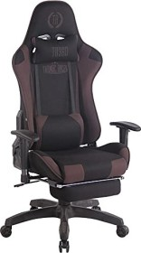 CLP Turbo with fabric gaming chair, black/brown (191670464)