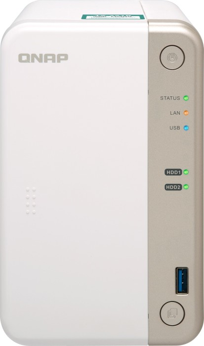 QNAP Turbo station TS-251B-2G 8TB, 2GB RAM, 1x Gb LAN