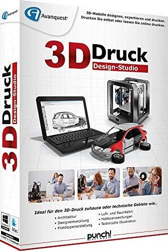 punch software 3d druck design studio deutsch pc ab. Black Bedroom Furniture Sets. Home Design Ideas