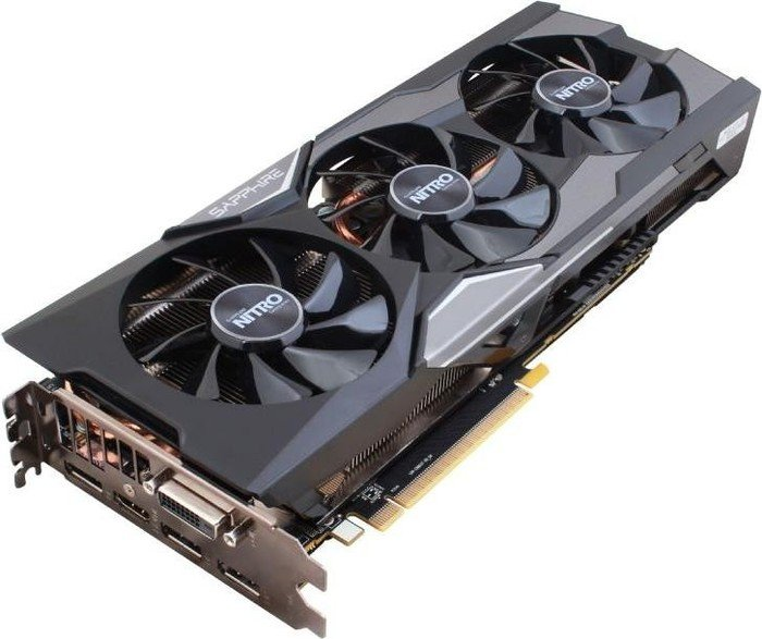 Sapphire Radeon R9 Fury Nitro, 1050MHz, 4GB HBM, DVI, HDMI, 3x DP, full retail (11247-03-40G)