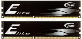 TeamGroup Elite schwarz DIMM Kit 8GB, DDR3-1333, CL9-9-9-24 (TED38G1333HC9DC01/TED38192M1333HC9DC)