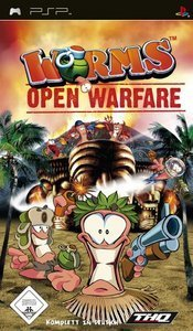 Worms - Open Warfare (German) (PSP)