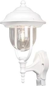 KonstSmide Außenleuchte 7224-250 Sockelleuchte Außenlampe Weiß
