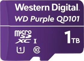 Western Digital WD Purple SC QD101 Ultra Endurance microSDXC 1TB, UHS-I U1, Class 10 (WDD100T1P0C)