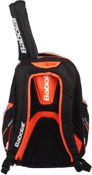 weiß-rot-schwarz MEGA INNOVATIV Tennisrucksack Babolat Backpack PURE STRIKE