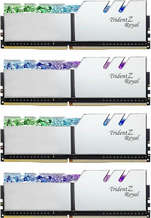 G.Skill Trident Z Royal silber DIMM Kit 32GB, DDR4-3000, CL16-18-18-38 (F4-3000C16Q-32GTRS)