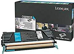 Lexmark C5200CS Return Toner cyan -- via Amazon Partnerprogramm