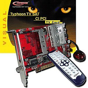 Anubis Typhoon TV Sat CI PCI (50674)