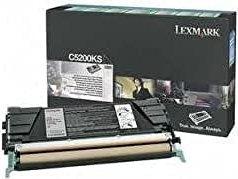 Lexmark Return Toner C5200KS schwarz
