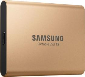 Samsung Portable SSD T5 gold 500GB, USB-C 3.1 (MU-PA500G)