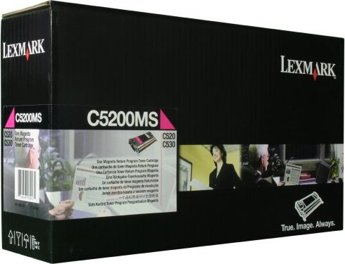 Lexmark Return Toner C5200MS magenta -- via Amazon Partnerprogramm