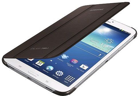 Samsung Diary Tasche für Galaxy Tab 3 8.0 braun (EF-BT310BAEGWW)