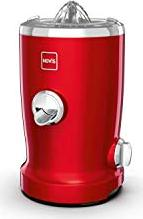 Novis Vita Juicer Never Forget Red Juicer with citrus squeezer