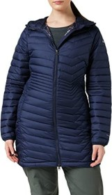 Columbia Powder Lite Mid Hooded Jacke dark nocturnal (Damen) (1748311-472)