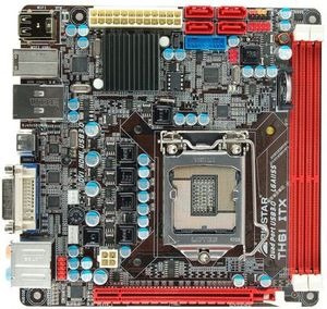 Biostar TH61 ITX, H61 (B3) (dual PC3-10667U DDR3)