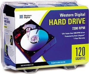 Western Digital WD Caviar 120GB retail, IDE (WD1200BBRTL)