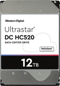 Western Digital Ultrastar DC HC520 12TB, 512e, SE, SATA 6Gb/s (HUH721212ALE604 / 0F30146)