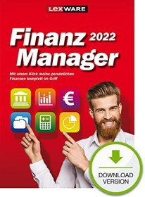 Lexware finance manager 2022, ESD (German) (PC) (06830-2013)