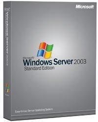 Microsoft Windows Server 2003 R2 Standard, 64bit, incl. 5 clients (English) (PC) (P73-01675)