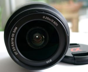 Sony lens AF 18-55mm 3.5-5.6 DT SAM (SAL-1855) -- provided by bepixelung.org - see http://bepixelung.org/8758 for copyright and usage information