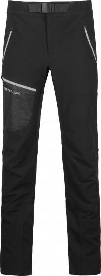 Ortovox Cevedale ski pants long black raven (men)