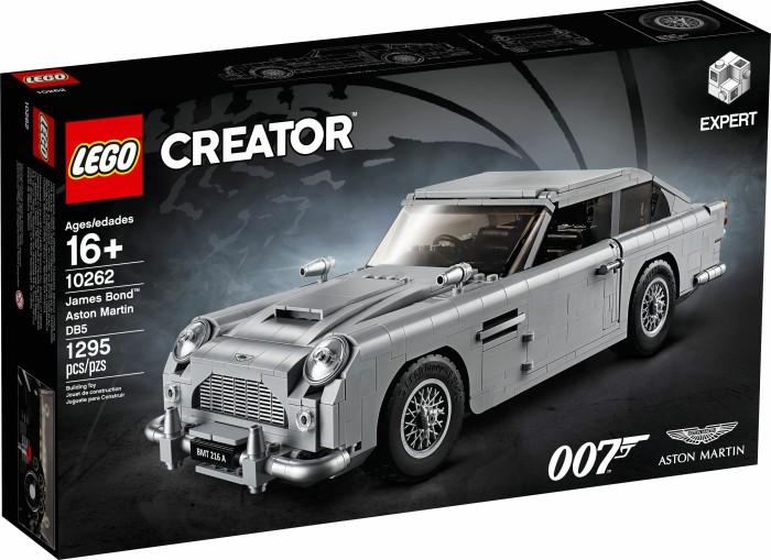 Lego Creator James Bond Aston Martin Db5 10262