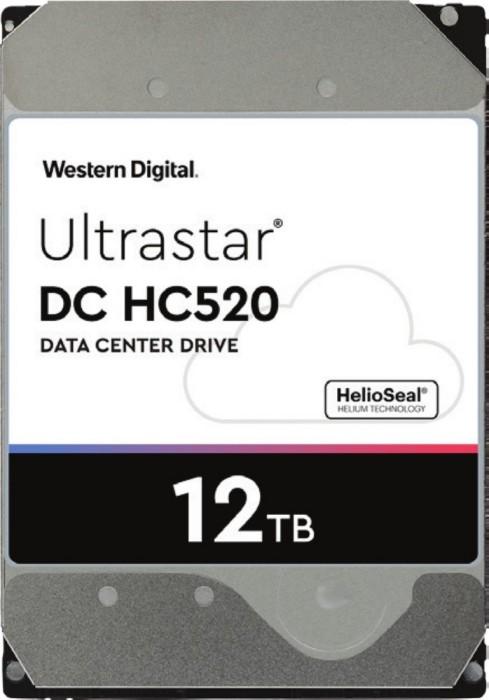Western Digital Ultrastar DC HC520 12TB, 512e, ISE, SAS 12Gb/s (HUH721212AL5200/0F29530)
