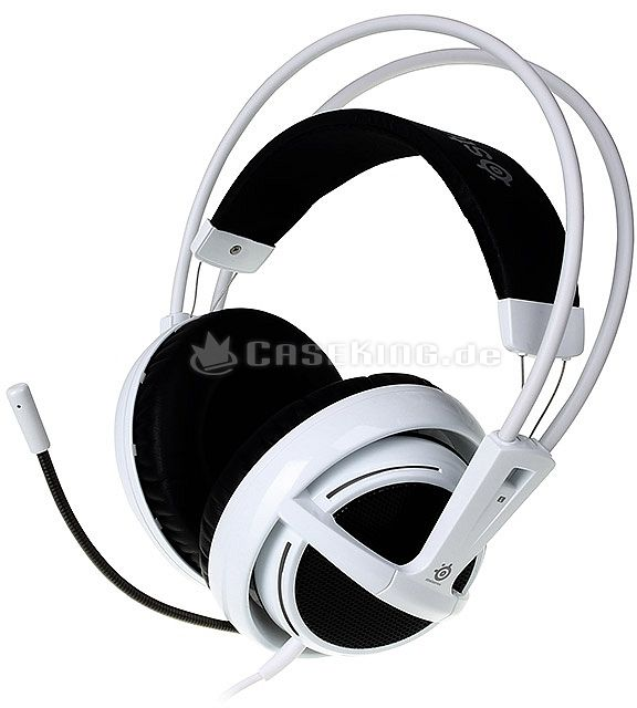 SteelSeries Siberia v2 USB headset white (51102) -- © caseking.de