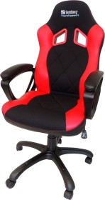 Sandberg Warrior gaming chair, black/red (640-80)