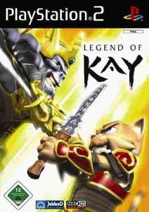 Legend of Kay (niemiecki) (PS2)