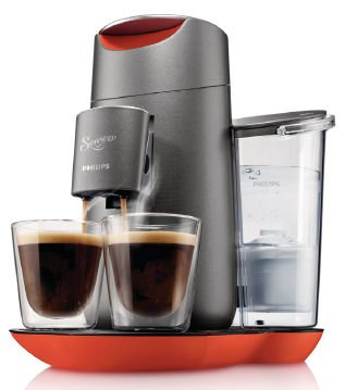 Philips HD7873/50 Senseo Twist Kaffeepadmaschine