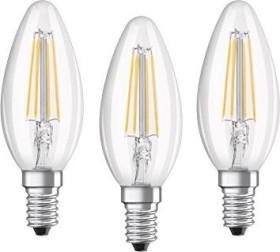 Osram Ledvance LED Base filament Classic B 40 E14 4W/827, 3-pack (819313)