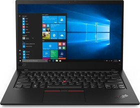 Lenovo ThinkPad X1 Carbon G7 Black Paint, Core i7-8565U, 8GB RAM, 256GB SSD, IR-Kamera, LAN Adapter (20QD0036GE)
