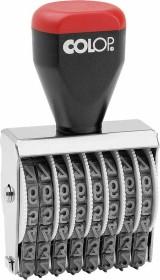 COLOP 05008 Ziffernstempel, 8 Ziffern, 39x5mm