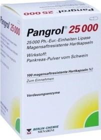 Pangrol 25000 Hartkapseln, 100 Stück